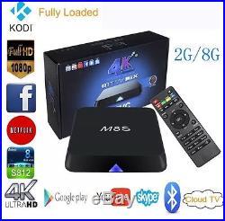 (10) M8S 4K2K 2G+8G Amlogic S812 Quad Core Android 4.4 Smart TV Box Kodi Xbmc