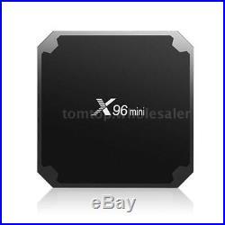 10PC X96mini Smart Android 7.1.2 TV Box S905W Quad Core H. 265 Mini PC 8GB Meida
