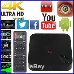 10PCS 4K MXIII MX3 XBMC QuadCore Android4.4 Smart TV BOX Media Player Wifi 1G+8G