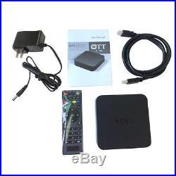 10Pcs MXQ Smart TV Box Player Android 4.4 Amlogic S805 Quad Core 8GB XBMC 9CX1
