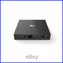 10Pcs T9 4G+32G Android 8.1 TV BOX RK3328 Quad Core WiFi 4K Media Player Q8F3W