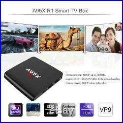 10X 4K A95X R1 1G+8G Smart TV Box Android 7.1.2 WIFI Quad Core Movie Player F0W4