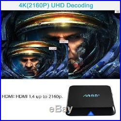 10x M8s+ 4k Kodi S812 Quad-core Android 5.1 Smart Tv Box Mini Pc Wifi 1000m L9k9