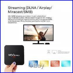 10X MXQ Pro S905X Smart TV BOX Android 5.1 Marshmallow Quad Core 8GB Box 4K HDMI