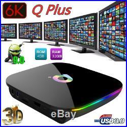 10X Q Plus Smart TV Box Android 9.0 Allwinner H6 4G+32GB 6K Quad Core WIFI E6H6
