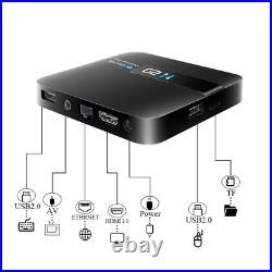 10pcs/lot dhl free H20 Android 7.1 TV BOX Quad Core 1GB 8GB 4K H. 265 Wifi