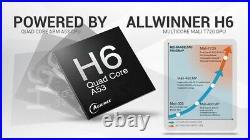 10pcs/lot dhl free TX6 Android 9.0 TV BOX 2G/16G 4G/32G H6 Quad core 6K H. 265