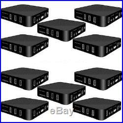 10x 4K Full HD 1080P Android 6.0 Smart TV BOX RK3229 Quad Core WiFi Media Player