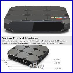 10x A95X R2 2GB/16GB 4K Android 7.1 TV BOX Amlogic Quad Core WiFi 3D Media S8M1