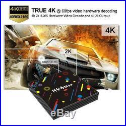 10x H96 Max-H2 4K Android 7.1 TV BOX HDR10 Quad Core 4G/32G WiFi 3D USB 3.0 W1Y1