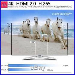 10x KODI XBMC 4K 8G Quad Core Android5.1 Smart TV Box Set WiFi Fully Loaded T4G6