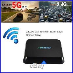 10x M8S+ 4K Kodi S812 Quad-Core Android 5.1 Smart TV BOX Mini PC WiFi Media A6U9