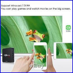 10x M9S-PRO 8G S905X Quad Core Android 6.0 Smart TV BOX H. 265 WiFi 4K Media W3G2