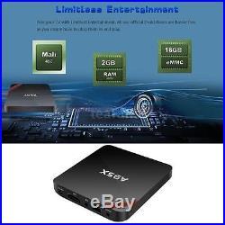 10x NEXBOX A95X 16G Android 6.0 S905X Quad Core TV BOX DLNA 4K Player BT4.0 S6Y5