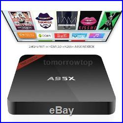 10x NEXBOX A95X S905X Quad Core Android 6.0 Smart TV BOX 4K WiFi A7N4