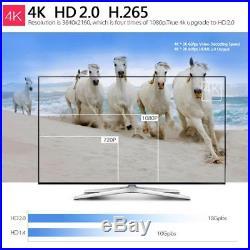 10x R39 4K2K RK3229 Quad Core Smart Android 6.0 TV Box DLNA WiFi HD Player I8U4
