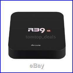 10x R39 RK3229 4K Quad Core Android 6.0 Smart TV Box WiFi H. 265 UHD Player Y9R5