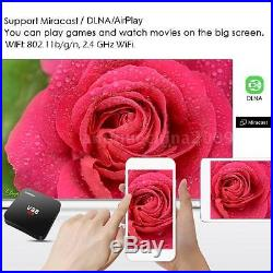 10x V88 Smart Android 5.1 TV Box RK3229 4K Quad Core 8G WiFi H. 265 Fully Loaded