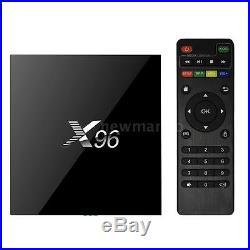 10x X96 Android 6.0 Smart TV BOX 4K 1080P S905X Quad Core Media Player