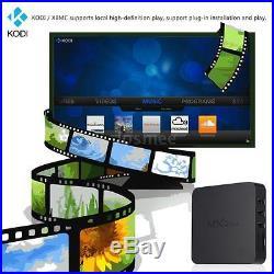 10xMXQ Smart S905 Quad Core Android5.1 TV Box KODI XBMC WIFI 4K 3D Mini PC Media