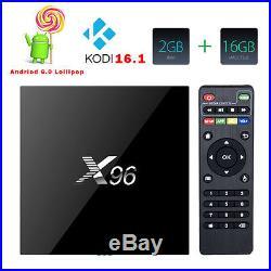 15PC X96 4K S905X Smart Android 6 0 Quad Core TV BOX WIFI