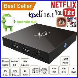 15PC X96 4K S905X Smart Android 6.0 Quad Core TV BOX WIFI UHD Media Fully Loaded
