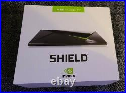 1st gen Nvidia Shield TV 2015 withbox, adapter, microSD, HDMI, controller