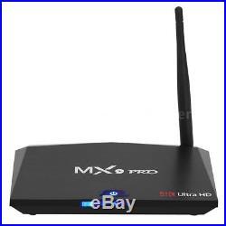 2 Pcs MX9 Pro RK3328 Android 7.1 Smart TV Box BT 4.1 Quad Core 4GB+32GB HD Media