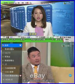 2018 NEW TV BOX Internet Live Streaming Box Wifi 1080p Bluetv HTV TVPAD Media TV