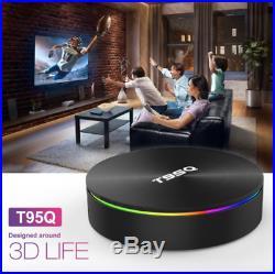 2019 JANUARY Version Android smart TV Box T95Q HD 4K WIFI Quad-Core 4GB+64GB