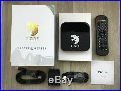 2019 Newest 4K Tigre, A2 TV Box MADE BY Htv, A2 BRAZIL Live TV