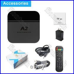 2019 Newest A2 TV BOX Portuguese Brazil live TV IPTV Media Streamer Wi-Fi & 4K