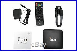 2020 2nd Unblock IBOX TV Box Chinese/HK/Taiwan Live TV HD VOD Bluetooth Funtv A3