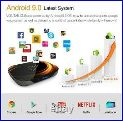 2020 Android Tv Box 9.0 Vontar X3 4GB RAM 128GB 8K Smart Android