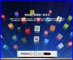 2020 UNBLOCK TECH UPROS GEN 7 Android 4K TV Box Channels US PLUG