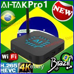 2021 Ai Tak pro 1 box pk btv box HTV BOX Brazilian internet TV Internet Streamin