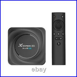 2021 Newest X88 PRO Android11.0 8K Smart TV Box RK3566 Media Player 8G+128G D8L8