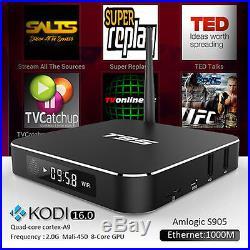 20PC 4KT95 Android 5.1TV Box Amlogic S905 Quad Core 3D 1/8GB WIFI Media PlayerOS