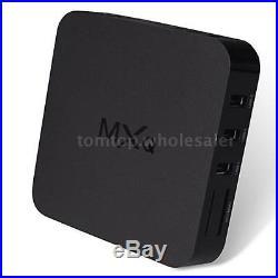 20PCS MXQ Android4.4 Smart TV Box S805 Quad Core KODI XBMC Wifi Media Player 8GB
