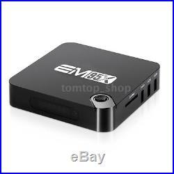 20x EM95X Quad Core 2G+16G Android 6.0 Smart TV BOX Media 4K WIFI Bluetooth