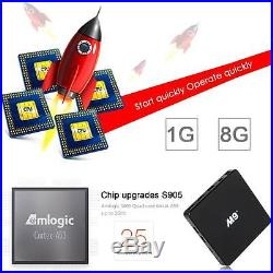 20x M9+S905 Smart TV BOX Quad Core Android5.1 KODI XBMC 1080p WIFI 4K Media G3I2