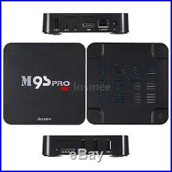 20x M9S-PRO 16G S905X Quad Core Android 6.0 TV Box DLNA 4K Player+Air Mouse K6U1
