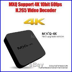 20x MXQ 4K Kodi Fully Loaded Quad Core Android4.4 Smart TV Box XBMC Wifi 8G X3S0