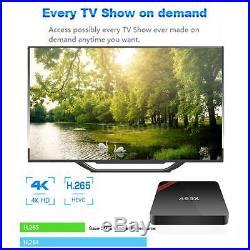 20x NEXBOX A95X S905X Quad Core Android 6.0 TV Box WiFi H. 265 3D Movies 4K C7W1