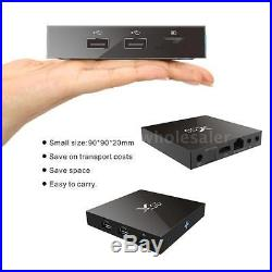 20x X96 S905X Quad Core Android 6.0 TV Box 3D WiFi 4K Media 8G Fully Loaded G0T8