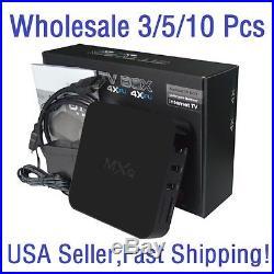 3/5/10 Lots MXQ S805 Smart TV BOX Android 4.4 Quad Core 8GB WIFI HD 1080P XBMC