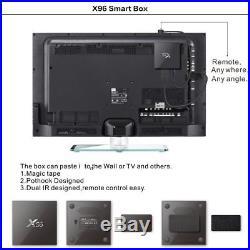 3/5/10 PCS 2G+16G X96PLUS Android 6.0 S905X Quad Core 4K H. 265 Smart TV BOX WIFI