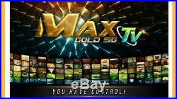 3 Pack Of Max Tv Gold 5g 4k Ultra-hd Iptv Box+android 7.1 Quad-core 64 Bit