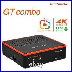 3D 4K Quad Core Android 9.0 Smart TV BOX DVB-S2X/T2/C Satellite Receiver WiFi BT