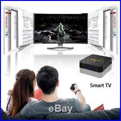 4GB+32GB MX10 Smart Android 7.1.2 TV Box RK3328 Quad-Core 4K HD 3D WiFi LAN